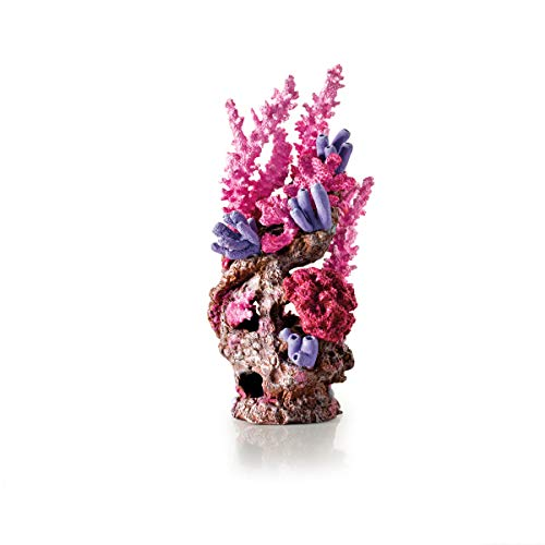 OASE biOrb 46138 Korallenriff Ornament rot – Aquariendekoration in Form einer Koralle zur Gestaltung von bezaubernden Unterwasserwelten in biOrb-Aquarien für Süßwasser und Meerwasser geeignet