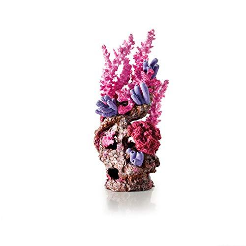 OASE biOrb Korallenriff Ornament - Aquarium-Deko in Form einer Koralle, Zubehör fürs Aquarium-Becken, 360 Grad Modell in Rot