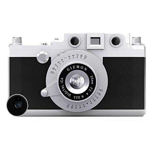 GIZMON Camera Design Case Cover For Apple iPhone5 GIZMON iCA5 BLACK 15003