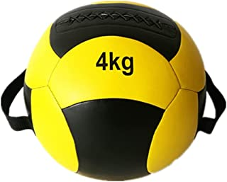 slam ball Soft Medicine Balls, Wall Ball and Full Body Dynamic Ex-ercises, Color-Coded Weights 4kg