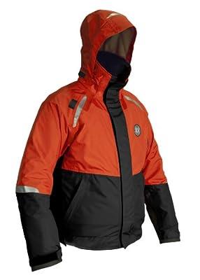 MUSTANG SURVIVAL Catalyst Flotation Jacket, Orange/Black, Large