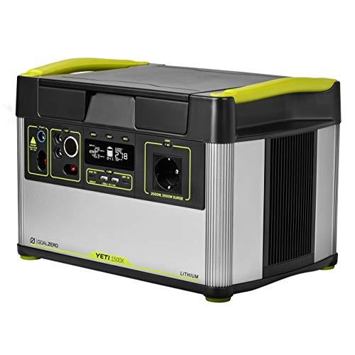 Goal Zero Yeti 1500X - Stazione di ricarica con batteria al litio da viaggio