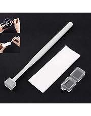 Kit de limpieza de polvo con sensor de cámara, sensor CCD/CMOS, juego de limpieza de polvo, fácil de usar y altamente eficaz para DSLR/SLR/cámara digital, 1 juego de color blanco