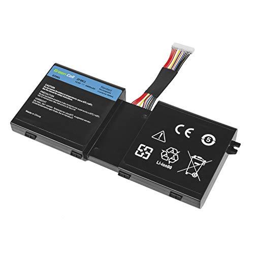 Green Cell® 2F8K3 Laptop Akku für Dell Alienware 17 18 (Li-Polymer Zellen 4400mAh 14.8V Schwarz)