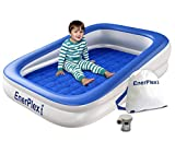 EnerPlex Kids Inflatable Toddler Travel Bed with High Speed...