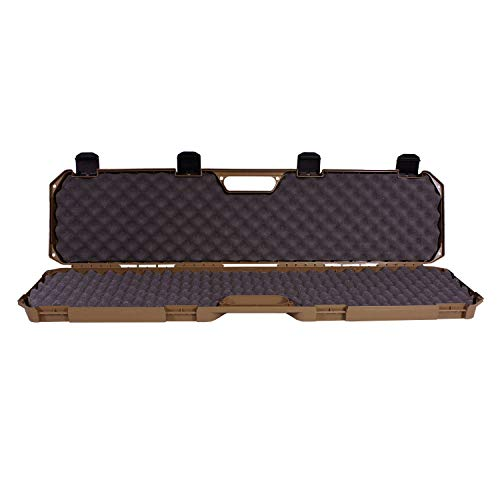 "Condition 1 42"" Single Scope Hard Plastic Rifle Case with Foam, Flat Dark Earth"