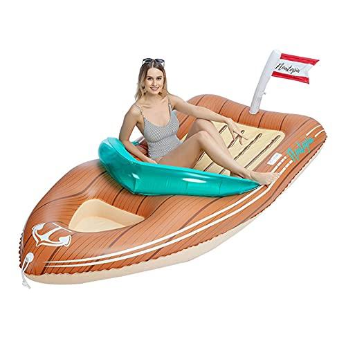 DPDM Flotador inflable de la piscina del ferry para los muchachos de las muchachas gigante redondo flotante cama floatie verano playa piscina inflables 200x90CM