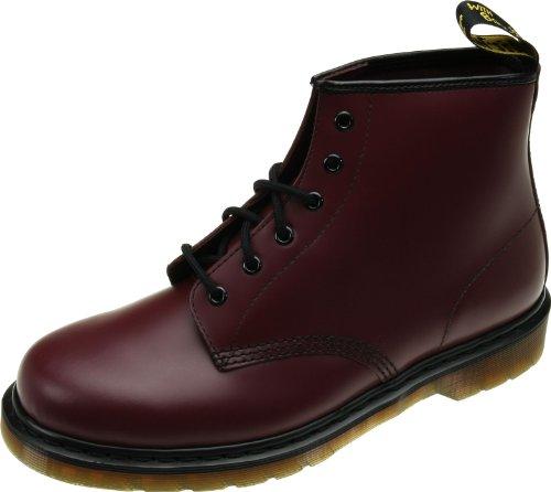 Dr. Martens 101 PW Smooth Unisex-Erwachsene Stiefel & Stiefeletten, Rot - Rouge (Cherry Red), 39 EU