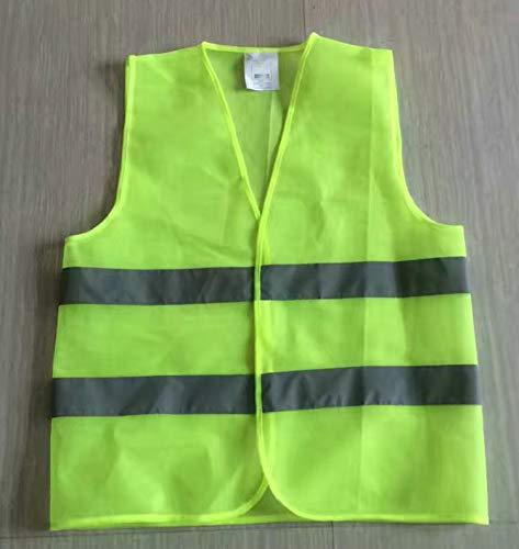 CHENTAOCS overalls voor mannen Workmen reflecterend vest reflecterende werkkleding universeel geel beschermend vest