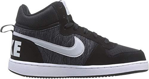 Nike Court Borough Mid SE (GS), Zapatos de Baloncesto para Niños, Blanco (White/Anthracite/Cool Grey/Wolf 100), 38 EU