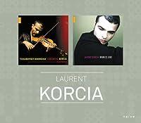 Doubles Jeux (二人のたのしみ) | コルンゴルト&チャイコフスキー : ヴァイオリン協奏曲集 (Korngold, Tchaikovsky, Ravel etc. : Works / Laurent Korcia, Jean-Jacques Kantorow, etc.) (2CD) [輸入盤] [Limited Edition]