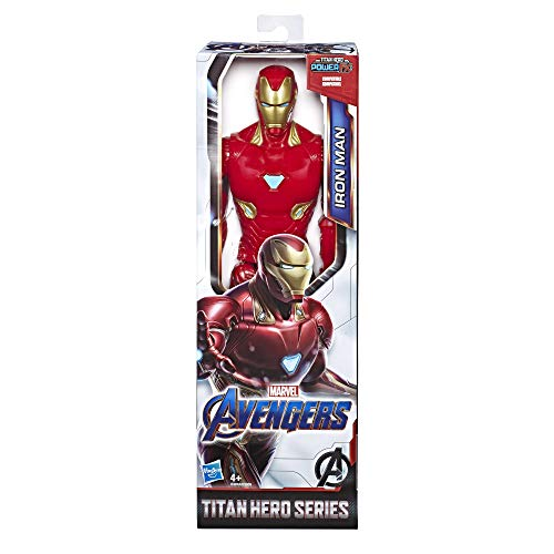 Marvel Avengers: Endgame – Iron Man Titan Hero Compatible con Power FX (Action Figure 30 cm, Power FX no Incluido)
