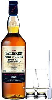 Talisker Port Ruighe Single Malt Whisky 0,7 Liter  2 Glencairn Gläser und Einwegpipette