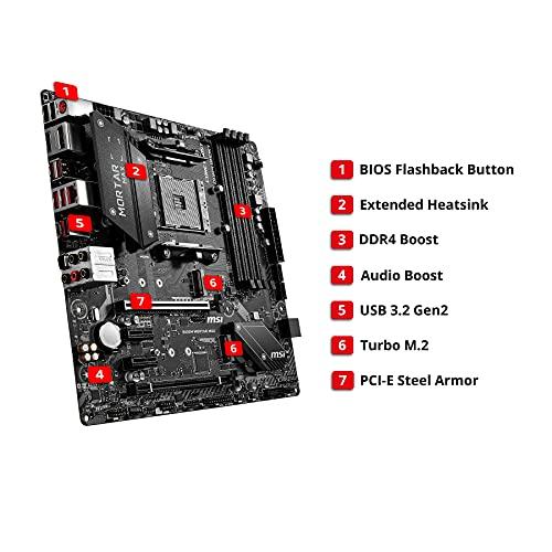 MB MSI B450M MORTAR MAX AMD AM4 RYZEN M.ATX