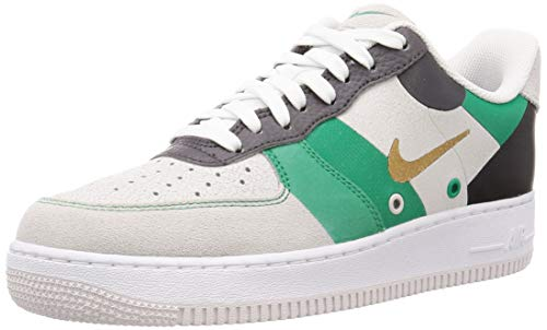 Nike Herrenturnschuhe AIR Force 1 '07 PRM 1 aus weißem Leder CI0065-100