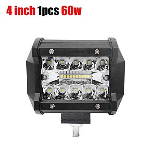 Barcos 12V 24V 4WD Barra linterna del LED for Auto SUV ATV iLight.7 pulgadas 120W combinado dirigido barras claras inundación del punto del haz 4x4 del punto luces del coche