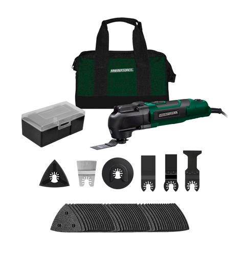 Lowest Price! Masterforce 3.5-Amp Corded Oscillating Multi-Tool Kit - 54 Piece