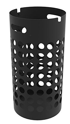Unilux Slim Porte-parapluies en Acier 50 x 26 cm Noir