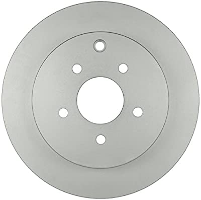 Bosch 40011040 QuietCast Premium Disc Brake Rotor For Select Infiniti FX35, FX45, M35h, M37, M56; Nissan Murano, Pathfinder, Quest; Rear