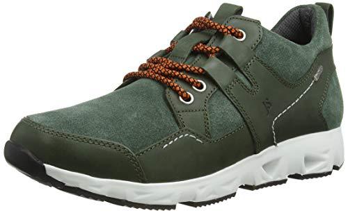 Josef Seibel Herren Low-Top Sneaker Noah 50,Weite G (Normal),lose Einlage,Sneaker,Keilabsatz,Heel,maennlich,Men's,keil,Grün (Tanne),44 EU / 9.5 UK