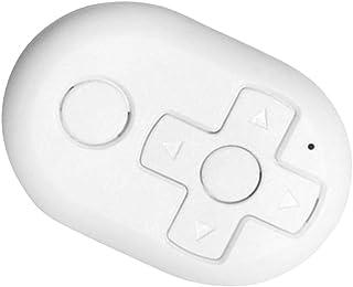 kesoto Música para Carro Bluetooth Botão de Mídia Controle Remoto Câmera E Book Page Turner - Branco