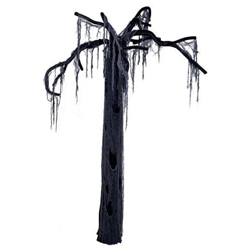 Boland- Decorazione Albero della Morte, Nero, 195 cm, 72032