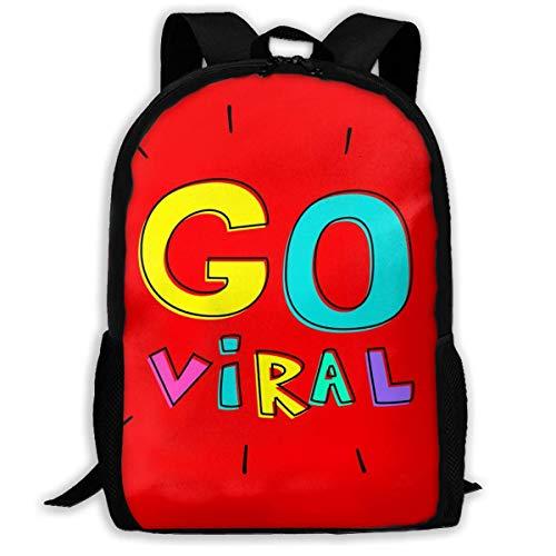Mochilas Escolares Volverse Viral Bolso De Escuela Hidrófugo Mochila para Viaje Elegante Mochila Tipo Casual por Niños Y Niñas