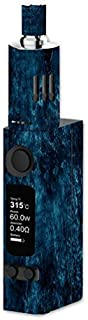 Decal Sticker Skin WRAP Blue Stone Texture for Joyetech eVic VTC Mini