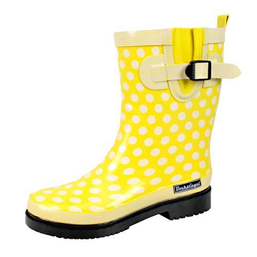 Bockstiegel Damen Gummistiefel Dorin, Farbe: Gelb, Größe: 40