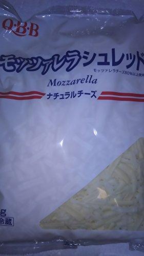 QBB モツァレラ とろける ナチュラル ミックスチーズ 1kg シュレット 業務用 冷蔵
