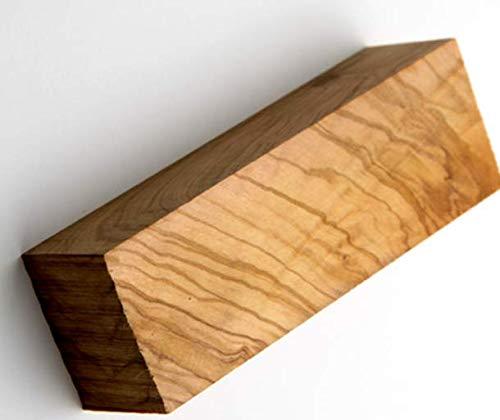 D.O.M. Rohholz Olivenholz Kanteln Verschiedene Abmessungen (20 x 20 x 120 mm)