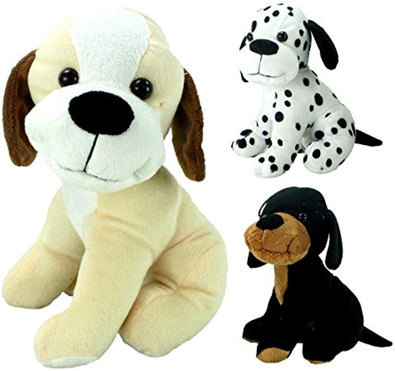 en venta en línea COOLMP – – – Lote de 12 – Peluche para Cachorro Sentado 23 cm Modelos Surtidos  hasta 42% de descuento