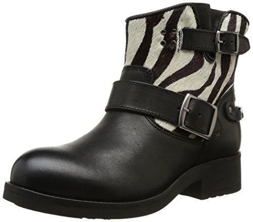 Koah Ronny, Boots Femme - Noir (Heavy Poney Zebra Black), 38 EU