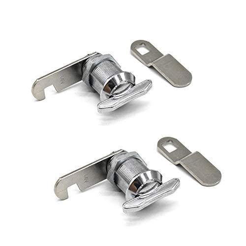 2Pcs Thumb Operated Cam Lock 7/8