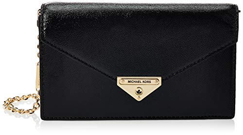 Composition: 100% Calf Leather; Lining: 100% Polyester W 8.66 x H 4.72 x D 2.17 inches; Drop: 20.87 inches; W 22 x H 12 x D 5,5 cm; Drop: 53 cm Made In MMR Black Bags