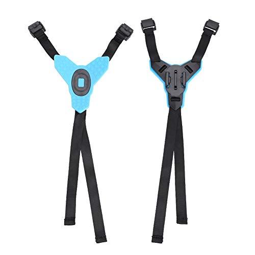 VBestlife houder voor actiecamera, bevestiging voor motorhelm, met behuizing, geschikt voor GoPro Hero 6/5/4, de meeste actiecamera's