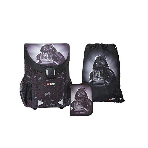 Lego - Easy Star Wars Vader School Bag - Easy Schulranzen/Schulranzen Set 3 TLG.