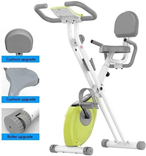 Cubierta plegable bici de la bicicleta estática del hogar silencioso de control magnético del coche plegable bajar de peso aparatos de ejercicios Sport Trainer ciclo de la bici for el hogar entrenamie