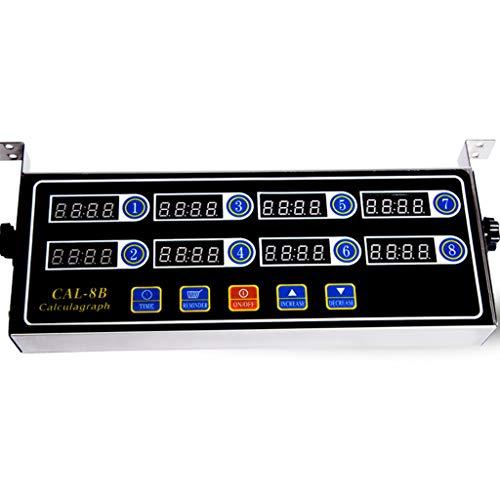 Xxw lamp timer voor de handel met roestvrij staal voor commerciële inrichtingsvoorwerpen Acht-Ssegment sporthorloge voor sportchronografen