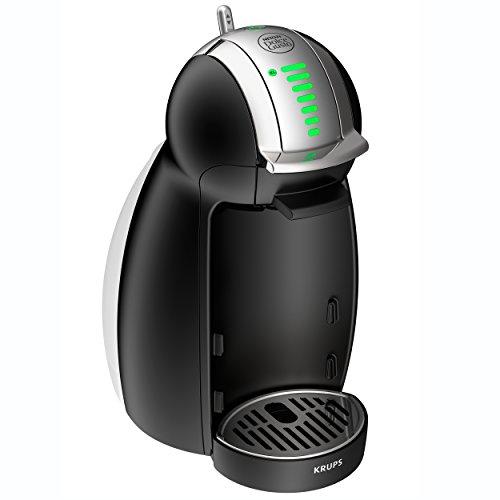 Krups KP 1608 Nescafé Dolce Gusto Genio Kaffeekapselmaschine (automatisch) schwarz matt