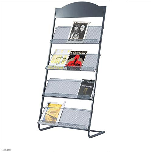 Price comparison product image HUO,  Children's Bookshelf Falling Subway Art Creative Magazine Newspaper Stand Display Stand Bookcases (Size : 1456338cm)