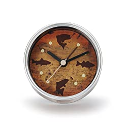 DEMDACO Big Sky Carvers Fish Clock-n-Can