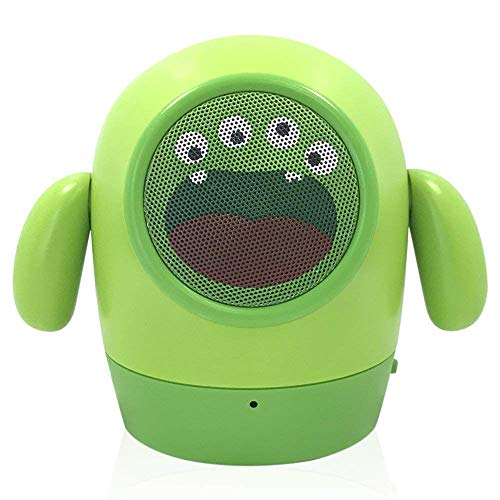 eZe Power Music Monster Rugged Cartoon Bluetooth Speaker with in-Built FM USB SD Slot Compatible for All Mobile Phones, Tablets, Laptops & PC's EZ445