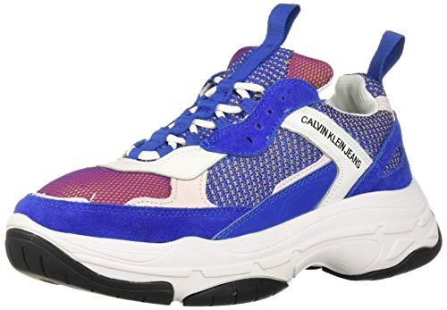 Calvin Klein Marvin Hombres Zapatillas Moda Blue Multicolour - 42 EU