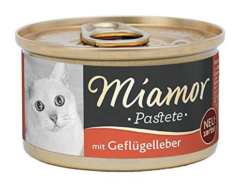 Miamor Pastete Geflügelleber, 1er Pack (1 x 85 Grams)