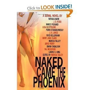 Hardcover Naked Came the Phoenix (LARGE PRINT) Book