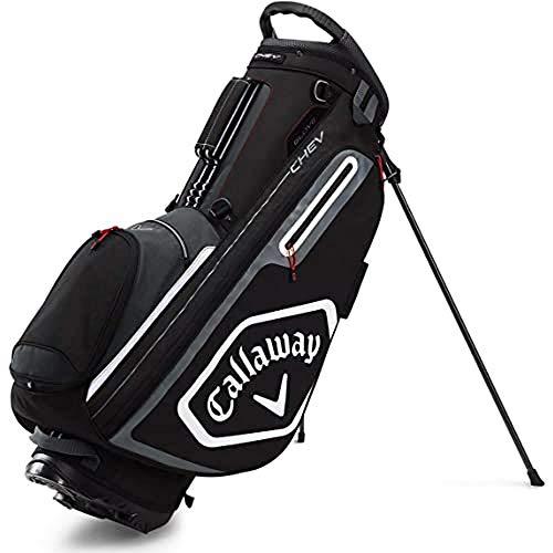 Callaway, Sacca da Golf Chev Stand, 2020, Unisex-Adulto, Taglia unica, Nero/Grigio/Bianco