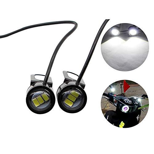 con LED 5630 10 W Luces Ungfu Mall para motocicleta 2 unidades 12 V
