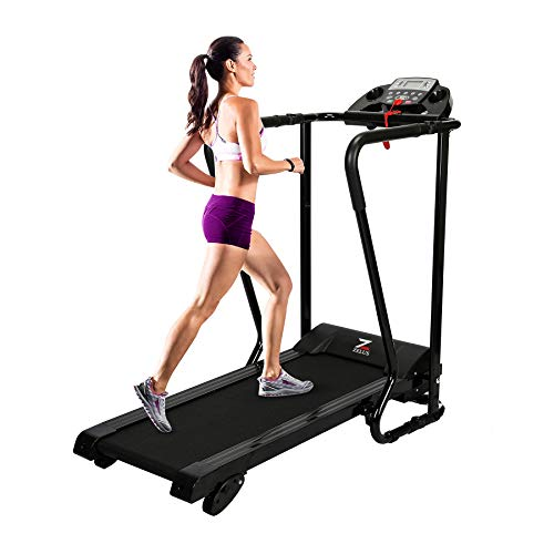 ZELUS Electric Folding Treadmill – Easy Assembly Walking Running Jogging Fitness Machine...
