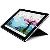 "Microsoft Surface 3 10.8"" FHD Full HD(1920x1280) Touchscreen 2-in-1 Education and Business Laptop Tablet (Intel Quad-Core Atom x7-Z8700, 4GB RAM, 64GB SSD) Mini DP, Webcam, Windows 10 Pro (Renewed)"